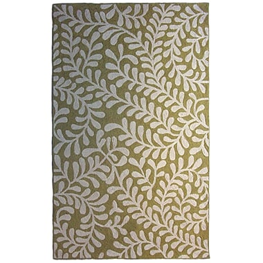 Lanart – Tapis Serena, 5 pi x 7 pi 6 po, vert
