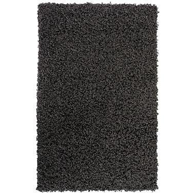 Lanart Shag-Ola Area Rug, 4' x 6', Charcoal