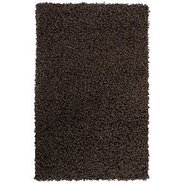 Lanart Shag-Ola Area Rug, 5' x 7', Brown