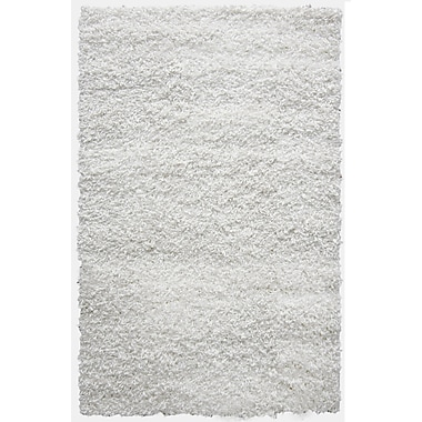 Lanart Shag-Ola Area Rug, 5' x 7', White