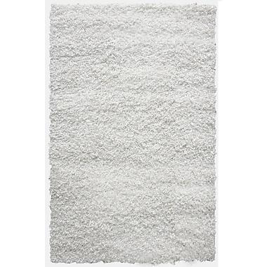 Lanart – Tapis Shag-Ola, 6 x 9 pi, blanc