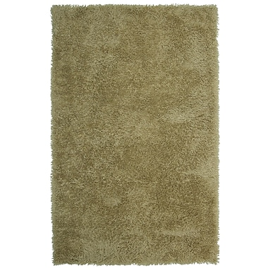 Lanart – Tapis doux à poil long, 8 x 10 pi, taupe