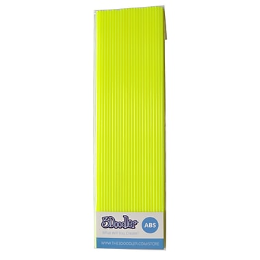 3Doodler ABS AB11-YLLW Plastic Strands, Super Yellow