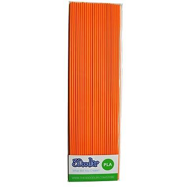 3Doodler PLA PL16-OJ Plastic Strands, OJ Orange