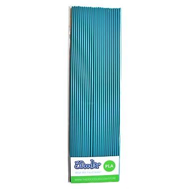 3Doodler PLA PL17-TEAL Plastic Strands, Teal-tastic