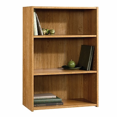 Sauder 3-Shelf Bookcase, Highland Oak