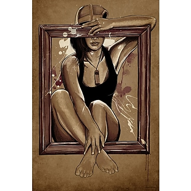 Maxwell Dickson 18''Thousand Words'' Painting Print on Canvas; 48'' H x 36'' W