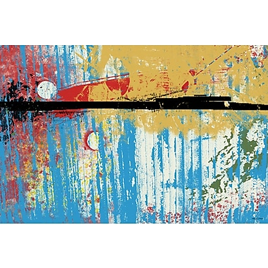 Maxwell Dickson ''Spring in the Air'' Painting Print on Canvas; 40'' H x 60'' W
