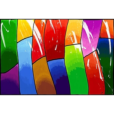 Maxwell Dickson ''Life'' Graphic Art on Canvas; 20'' H x 30'' W
