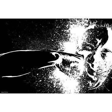 Maxwell Dickson ''The Punch'' Graphic Art on Canvas; 40'' H x 60'' W
