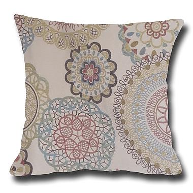 LSCovers Spirals Decorative Toss Throw Pillow