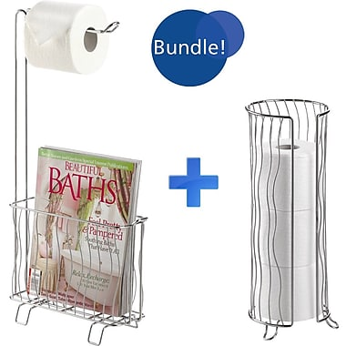 Better Living Products The Toilet Caddy Free Standing Bundle
