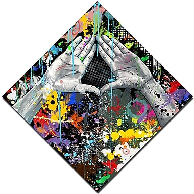 Maxwell Dickson ''CONTROversies'' Graphic Art on Canvas; 30'' H x 30'' W