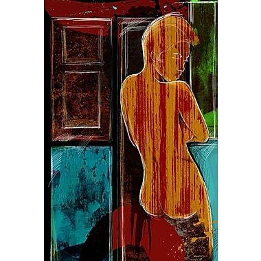 Maxwell Dickson ''Faded Memory'' Graphic Art on Wrapped Canvas; 20'' H x 30'' W