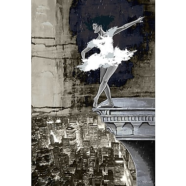 Maxwell Dickson ''Big City of Dreams'' Painting Print on Canvas; 18'' H x 24'' W