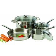 Cook Pro 7-Piece Stainless Steel Cookware Set