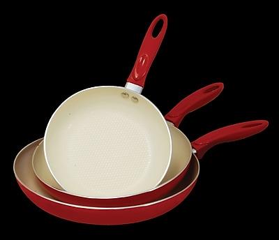 Cook Pro 3 Piece Non-Stick Frying Pan Set