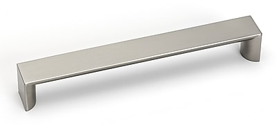 Alno Style Cents 6 3/8'' Center Bar Pull; Satin Nickel