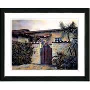 Studio Works Modern ''Hacienda'' by Mia Singer Framed Painting Print; Satin Black