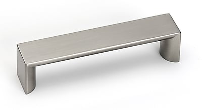 Alno Style Cents 3 7/8'' Center Bar Pull; Satin Nickel