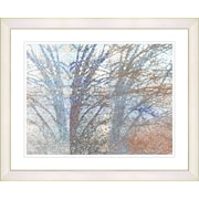 Studio Works Modern ''Winter Branches'' by Zhee Singer Framed Painting Print; Creamy White