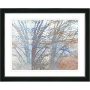 Studio Works Modern ''Winter Branches'' by Zhee Singer Framed Painting Print; Satin Black