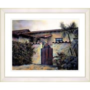 Studio Works Modern ''Hacienda'' by Mia Singer Framed Painting Print; Creamy White