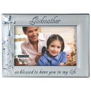 Malden 4'' x 6'' Godmother Metal Picture Frame