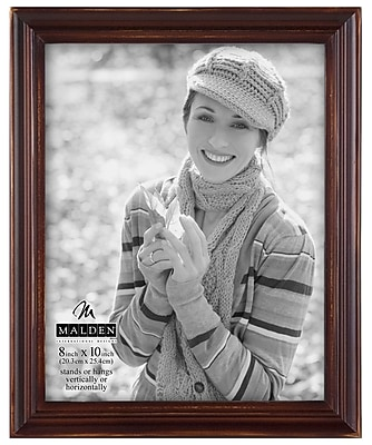 Malden Washed Picture Frame; 12'' H x 10'' W x 1.25'' D