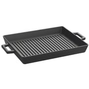 Lava Cookware ECO Enameled Cast-Iron Square Grill Pan; 12'' W x 10'' D