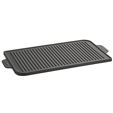 Lava Cookware ECO Enameled Cast-Iron 18.5''x 12'' Reversible Grill Pan & Griddle