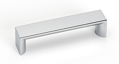 Alno Style Cents 3 7/8'' Center Bar Pull; Polished Chrome