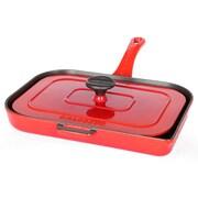 Chasseur 8'' Panini Pan; Flame Red