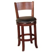 Sunny Designs Cappuccino 24'' Swivel Bar Stool