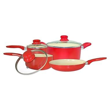 Cook Pro 7 Piece Aluminum Cookware Set