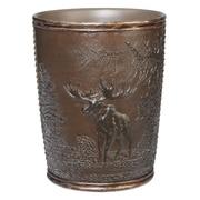 Creative Bath Rustic Montage Resin Trash Can