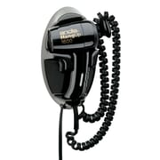 Andis 1600w Ionic Hang Up Dryer with Light, Black