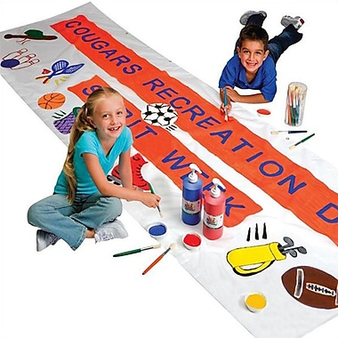 S&S Color-Me Non-toxic Banner Easy Pack (AP121)
