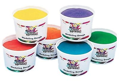 Color Splash® Modeling Dough, 6/Set