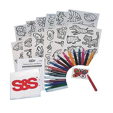 Geeperz™ Window Decor Kit, 60/Pack