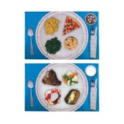 """S&S® 17"""" X 11"""" Food Plate Puzzle Set, Nutritional"""