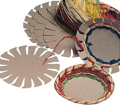 Geeperz™ Raffia Basket Group Pack, 24/Pack