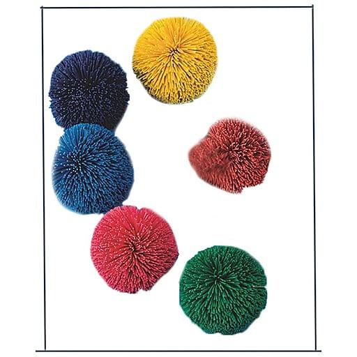 """Spectrum™ Kooshie Balls, 2"""", Assorted, 6/Set"""