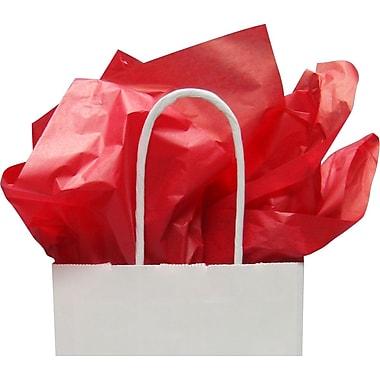 Papier mince rouge, 20 x 30 po, 1 rame (480 feuilles)