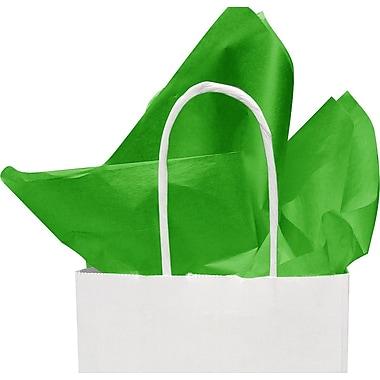 Papier mince vert lime vif, 20 x 30 po, 1 rame (480 feuilles)
