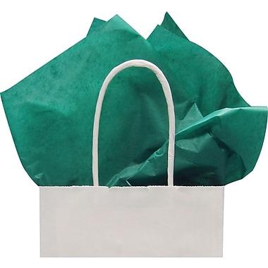 Feuilles de papier de soie, vert émeraude, 20 x 30 po, 1 rame (480 feuilles)