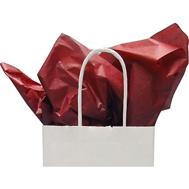 Feuilles de papier de soie, rouge bordeaux, 20 x 30 po, 1 rame (480 feuilles)