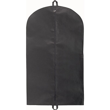 Gunther Mele Ltd. Non-Woven Garment Bag, Black, 100/Case