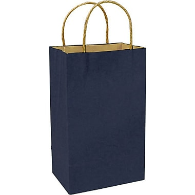Colour Paper Shopper, Navy Blue, Prime, 250/case