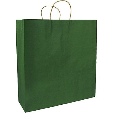 Colour Paper Shopper, Forest Green, Fashion, 250/Pack